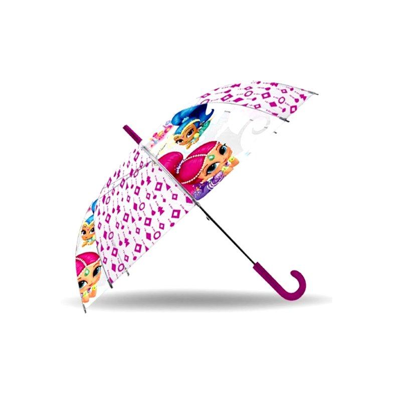 estilo máximo nuevo estilo de 2019 excepcional gama de estilos Paraguas transparente Shimmer and Shine 48cm 19